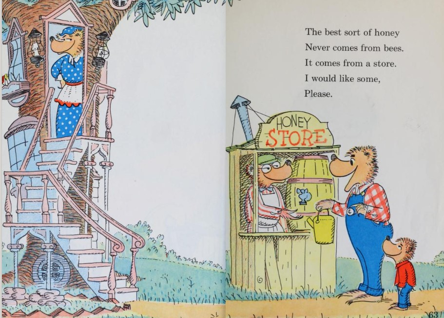Berenstain Bears cartoon
