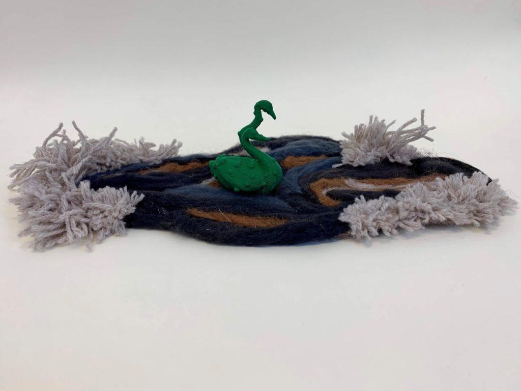 Mutated plastic swan