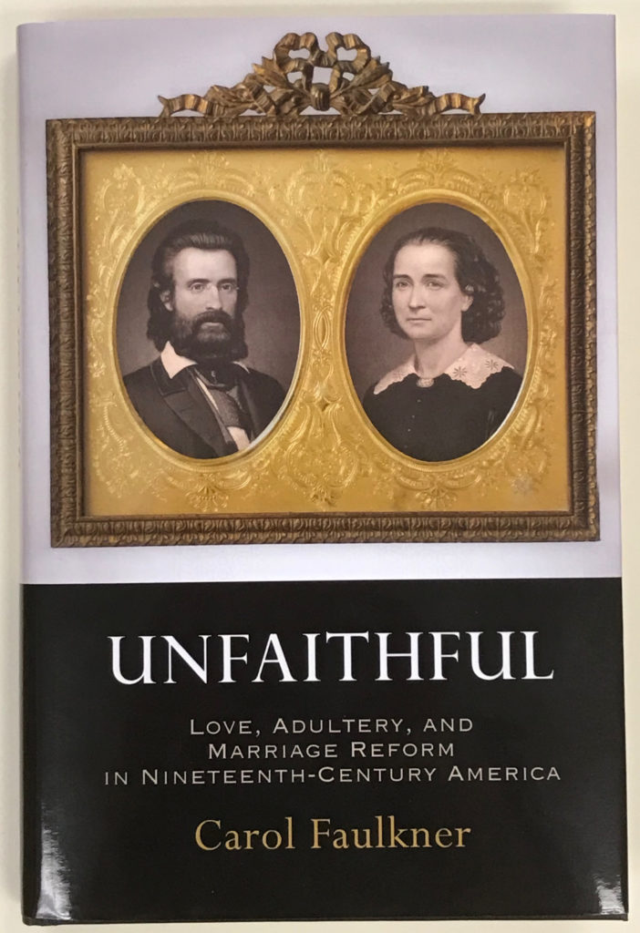 Book cover with image of 1800s couple