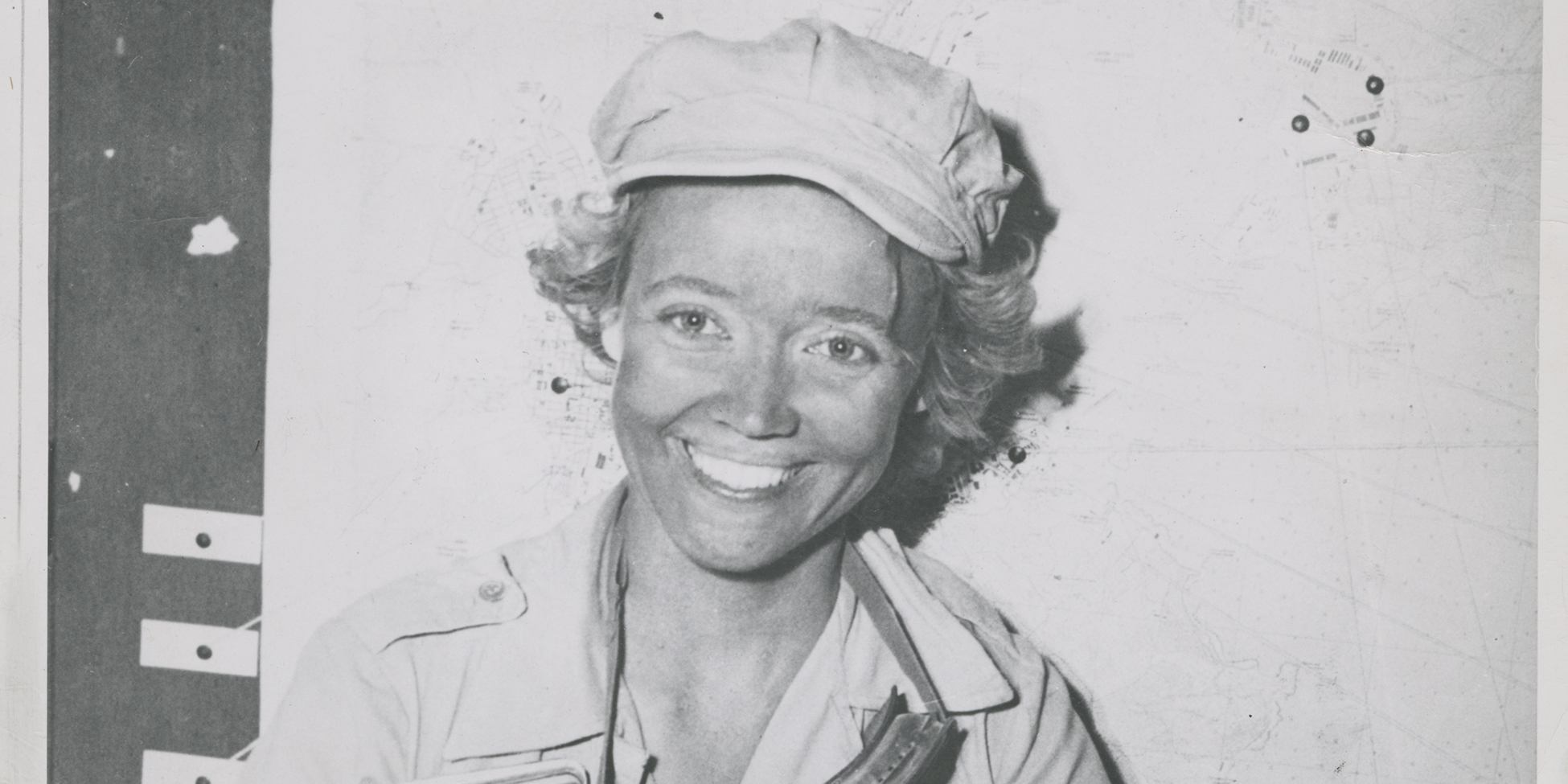Marguerite Higgins smiling