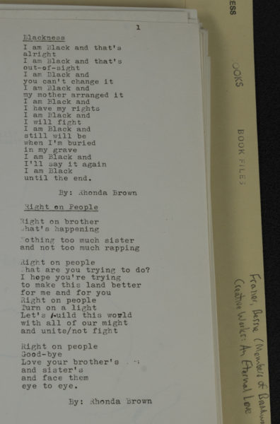Typewritten text on white paper
