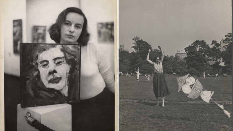 An Artist in Pictures: Photographs of Grace Hartigan