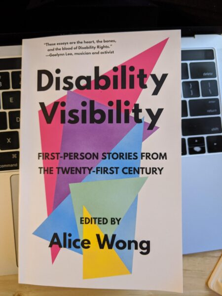 Cover of book Disability Visibility