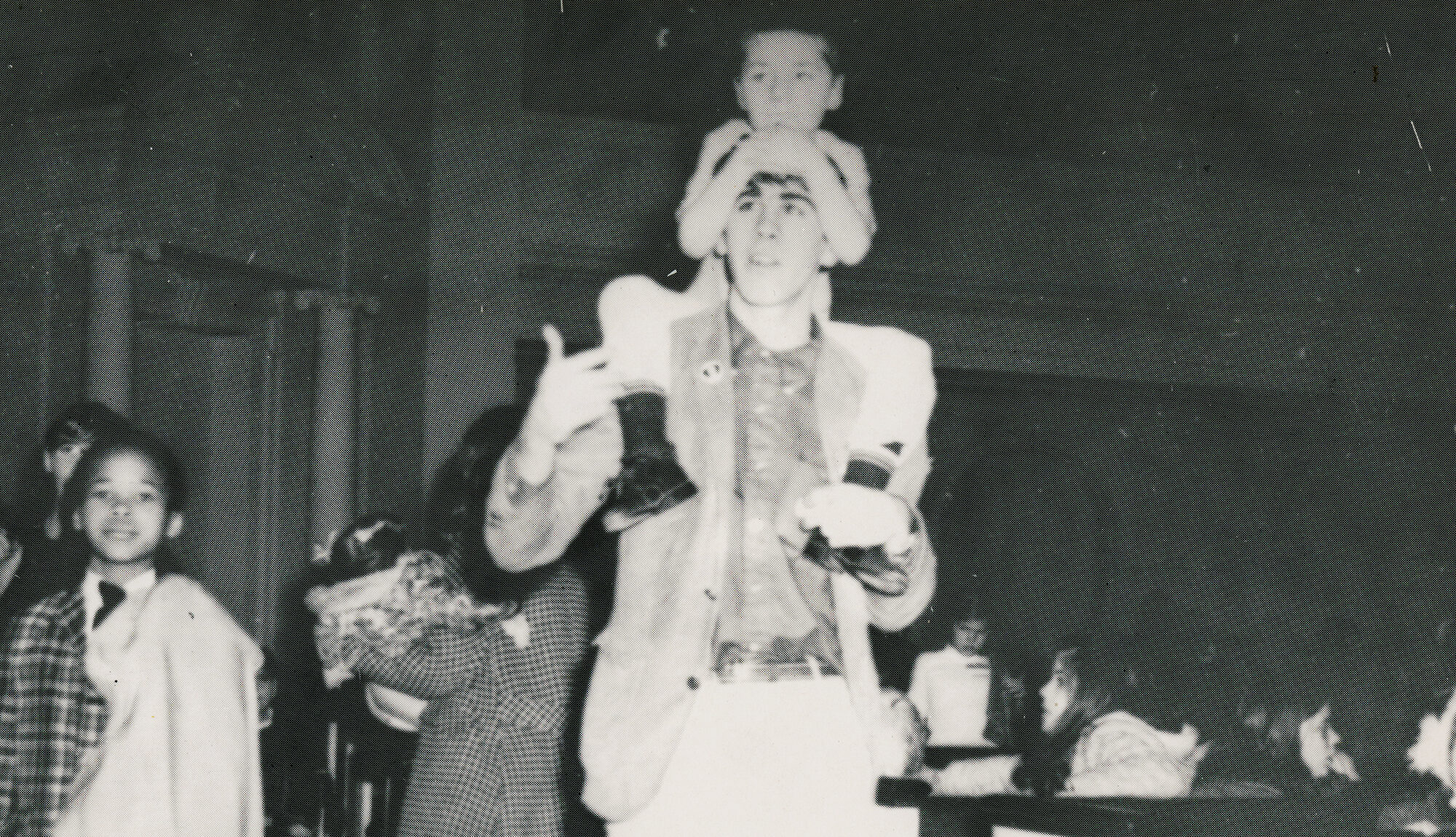 Man walking with child sitting on his shoulders