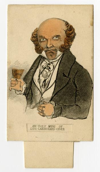 William Henry Harrison card.