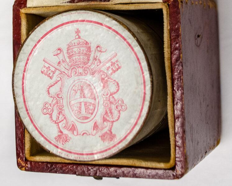 Pope Leo XIII's crest
