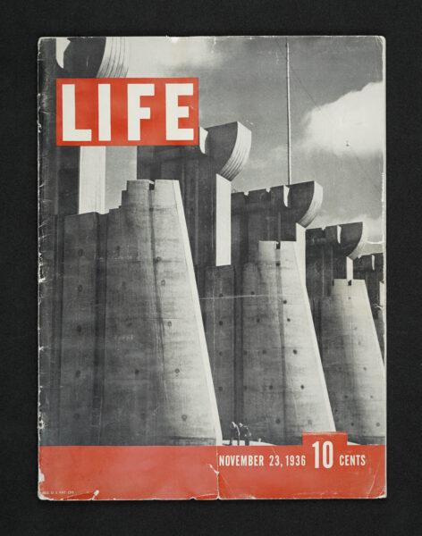 Life Magazine cover 1936.