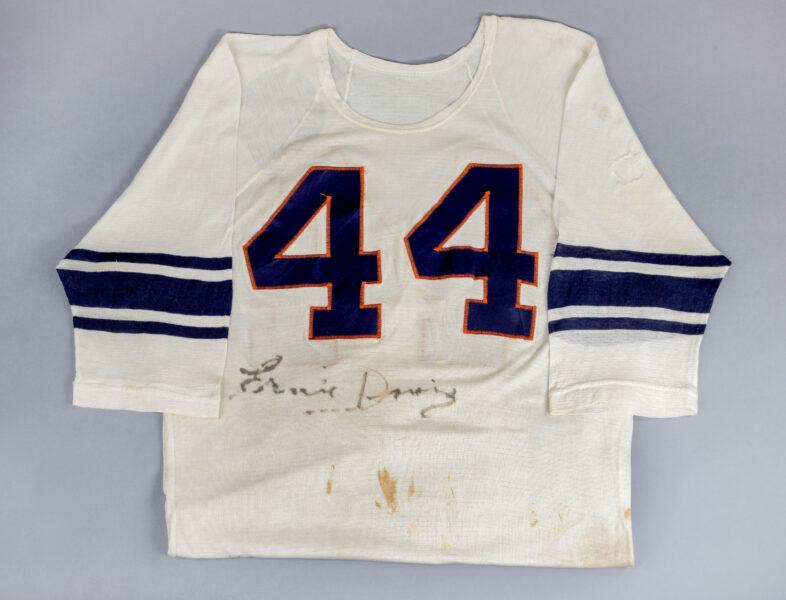 Ernie Davis jersey.