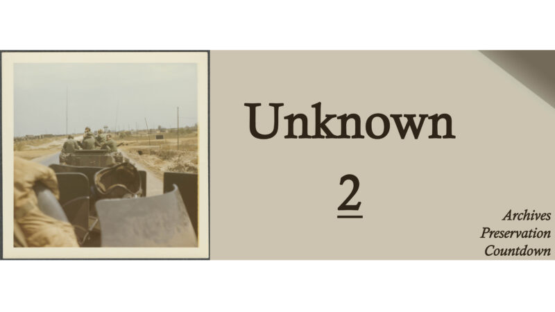 UNKNOWN: Cassette Tapes and the E. Thomas Billard Papers