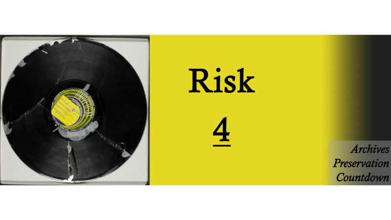 RISK: Photographs, Lacquer Disks and the Margaret Bourke-White Papers