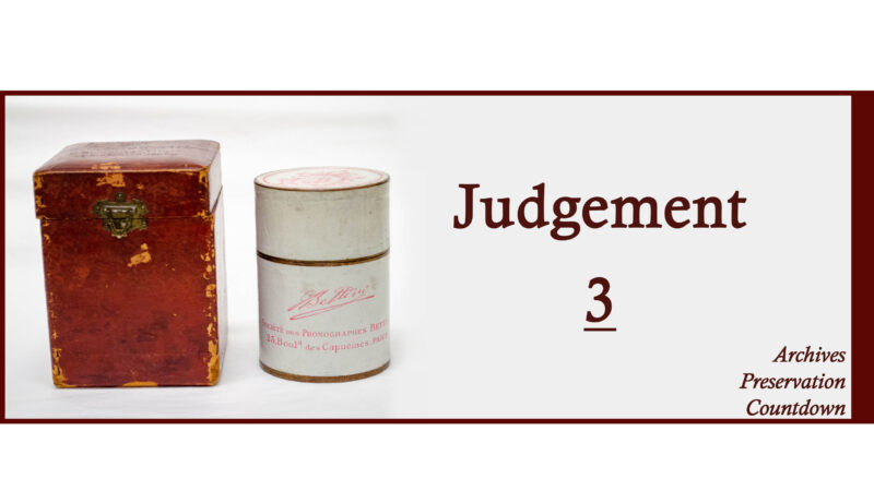 JUDGEMENT: Pope Leo XIII and the Belfer Cylinders Collection