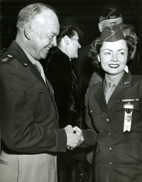 Margaret Hastings and Dwight Eisenhower