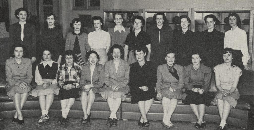 Women's Veterans Association 1950.