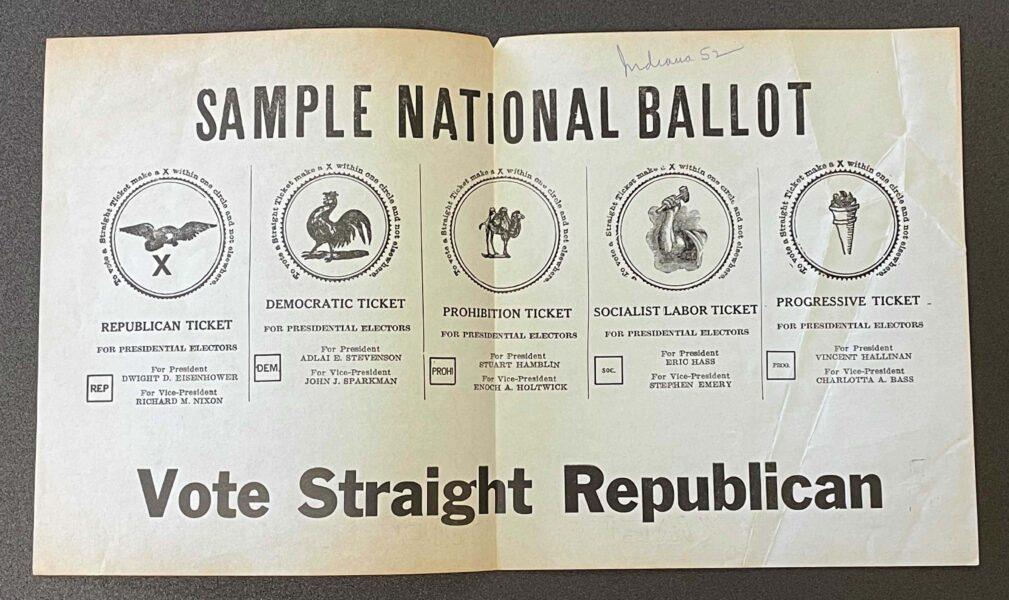 1952 ballot