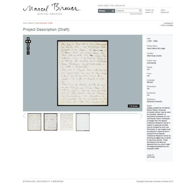 Screenshot of a digitized handwritten letter