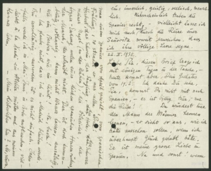 A Marcel Breuer letter