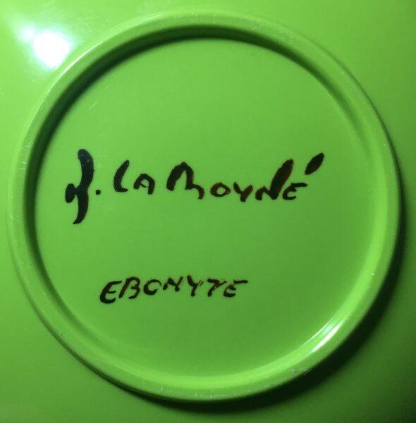 Artist signature.