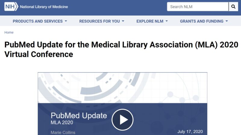 The New PubMed: What's Changed and How You Use it