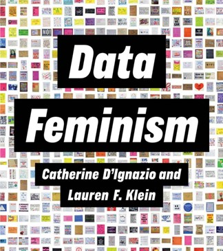 graphic of book cover that reads Data Feminism
