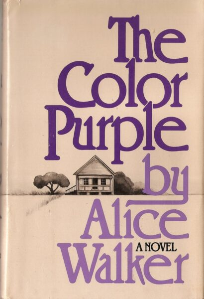 Tan and purple cover of The Color Purple