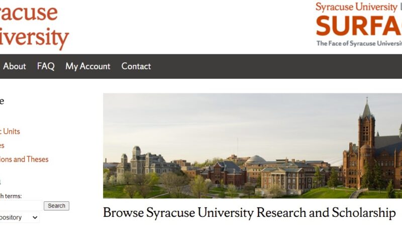 Spring 2021 Electronic Theses and Dissertation Records Now Available in SURFACE