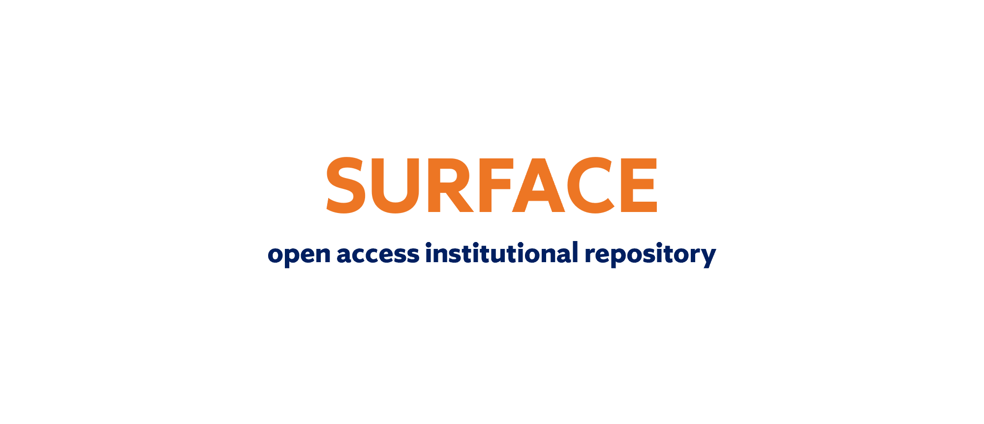 SURFACE open access institutional repository