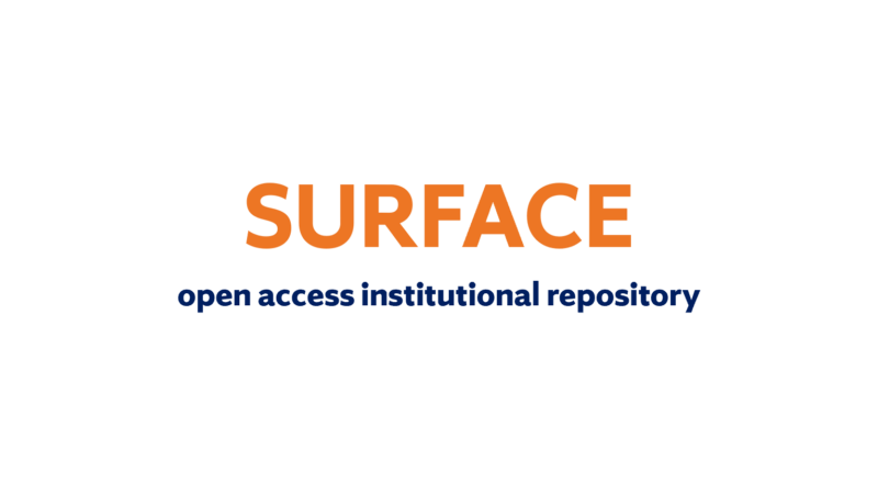 SURFACE: Our Institutional Repository
